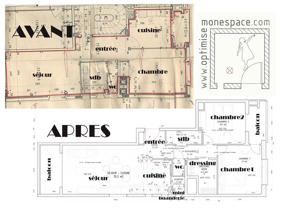 comment transformer un t2 en t3 et augmenter la valeur de. Black Bedroom Furniture Sets. Home Design Ideas