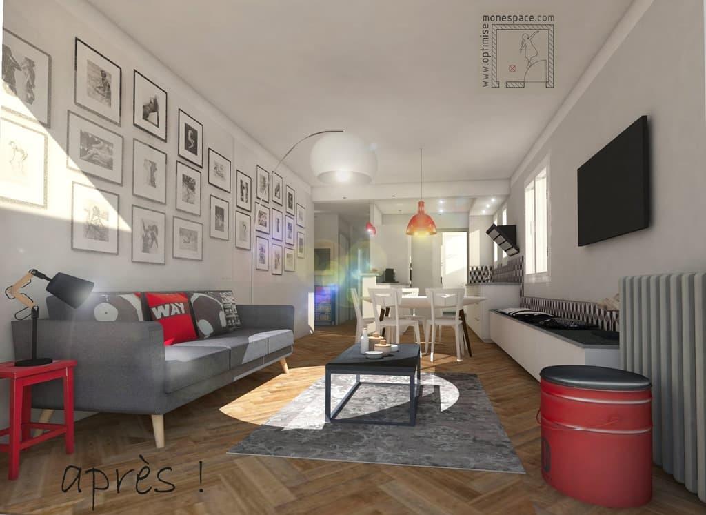 Comment transformer un T2 en T3 et augmenter la valeur de votre appartement !