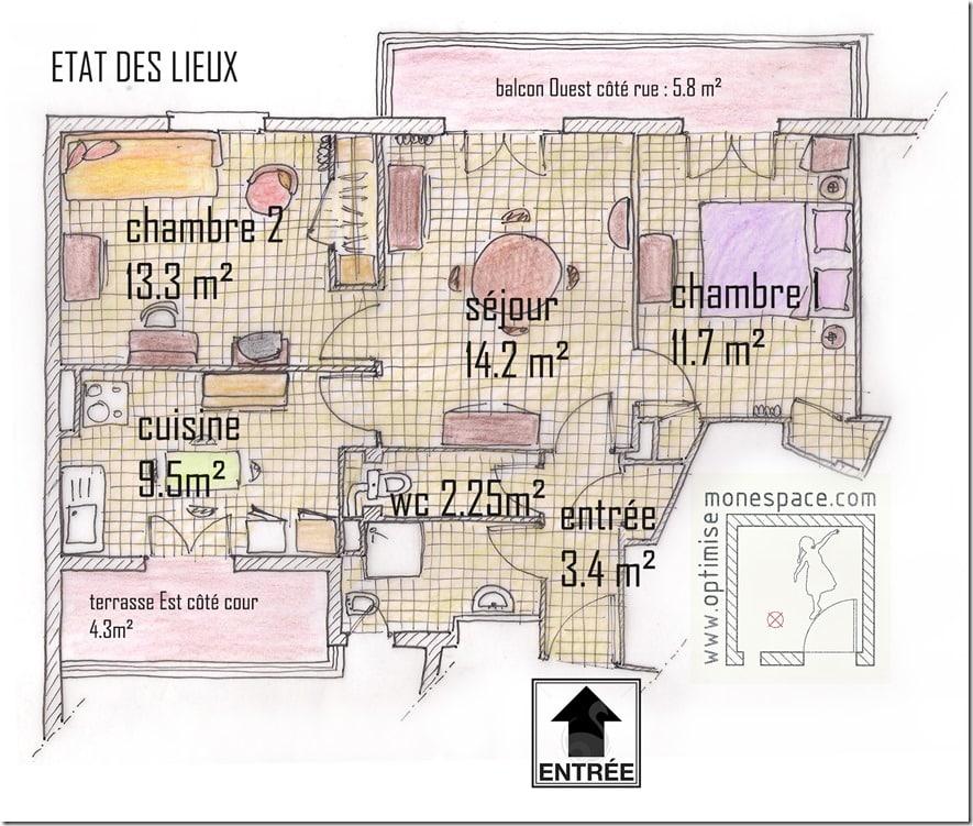 plan T3 état des lieux 1