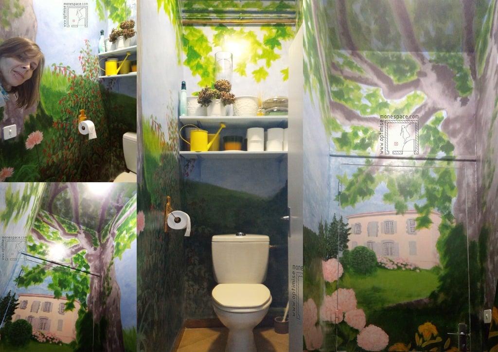 Faire de vos toilettes un lieu d 39 exception - Tartre au fond des toilettes ...