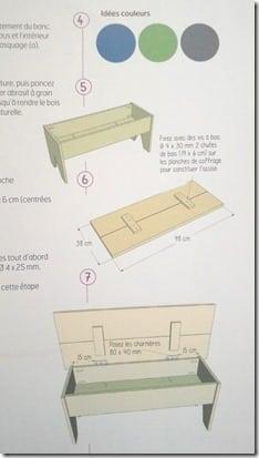 comment fabriquer un banc coffre