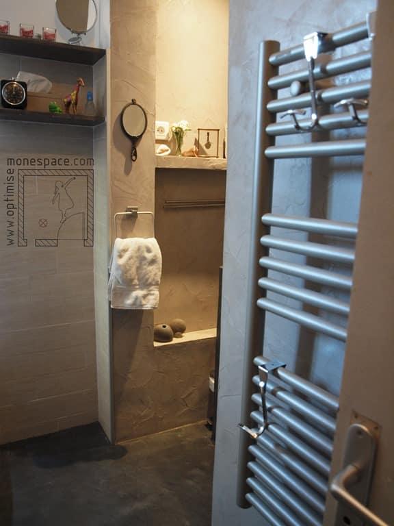 Etude de cas une vraie sdb dans moins de 4m for Salle de bain petit espace