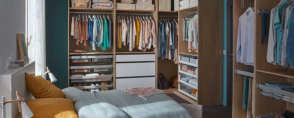 Suite parentale avec dressing comment l 39 am nager for Amenager son garage en suite parentale
