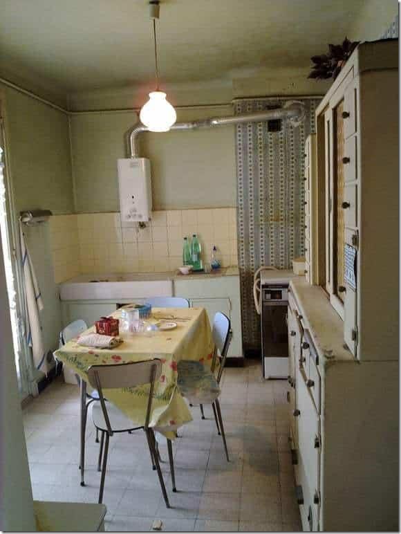 cuisine appartement à rénover